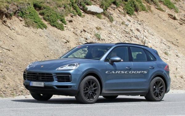 Новый Porsche Cayenne замечен на тестах