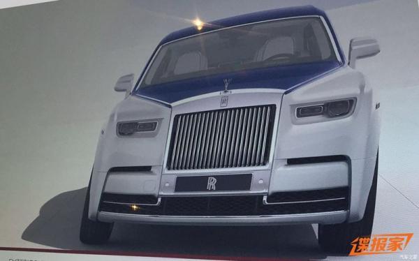 Первые фото Rolls-Royce Phantom нового поколения