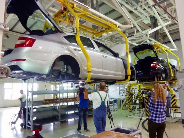 Автопроизводство в Украине продемонстрировало стремительный рост