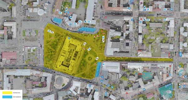 Контрактовая площадь в Киеве будет пешеходной