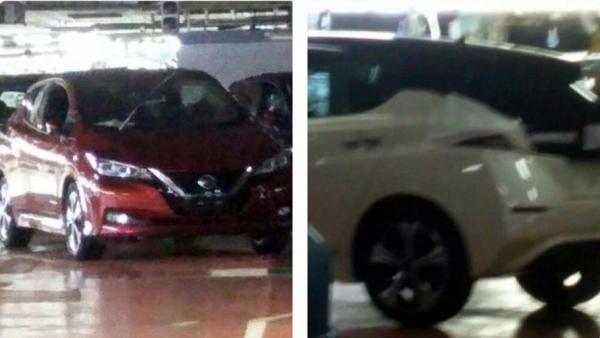 Новый Nissan Leaf полностью рассекречен