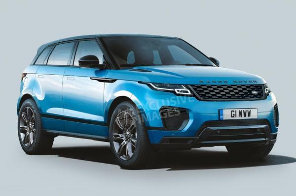 Новый Range Rover Evoque представят в 2019 году