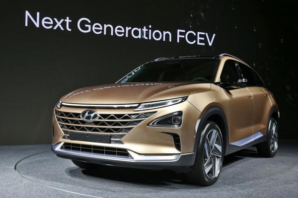 Hyundai готовит вседорожник на водороде