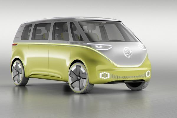 Электрический вэн Volkswagen I.D. Buzz станет серийным