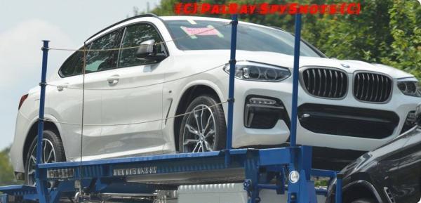 Первые фото BMW X4