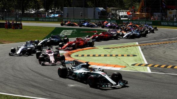 Формула-1: Дубль Mercedes в Гран-при Италии