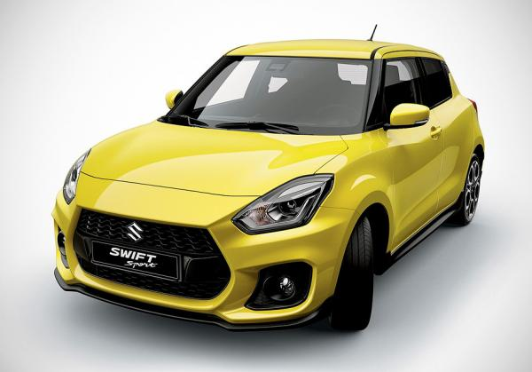 Заряженный Suzuki Swift Sport рассекречен