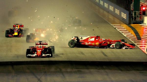 Формула-1: безоговорочная победа Хэмилтона в Гран-при Сингапура