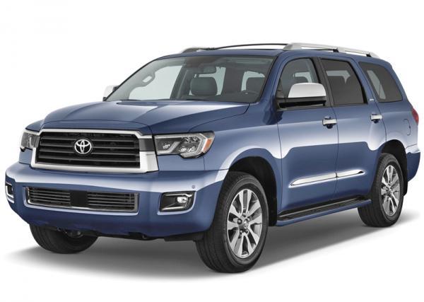Toyota Sequoia: обновление долгожителя