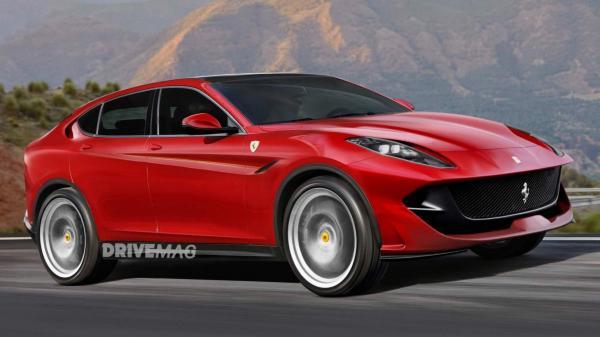 Первый вседорожник Ferrari появится до 2020 года