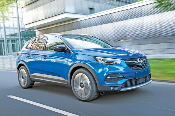 Opel Grandland X: преемник Antara