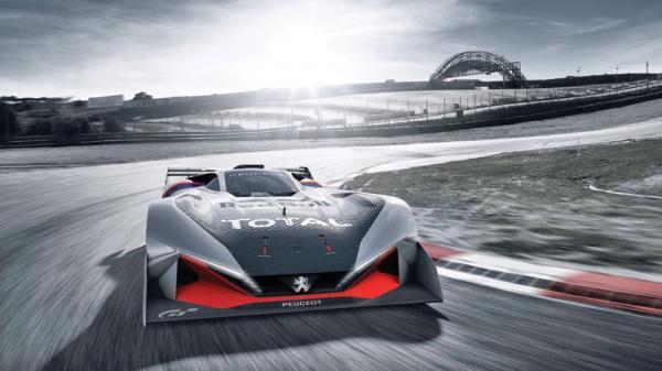"Peugeot L750R Hybrid: виртуальный ""спортсмен"""