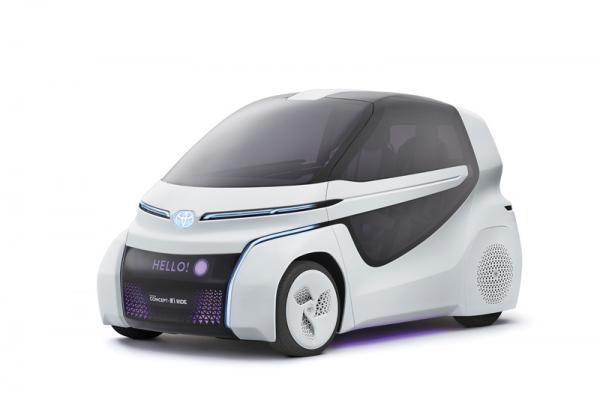 Toyota Concept i-Ride: с заботой об инвалидах