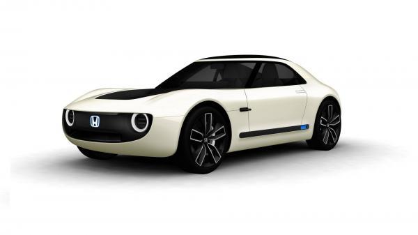 Honda готовит электрическое спорткупе