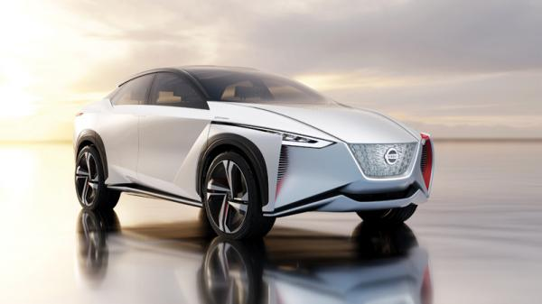 Nissan IMx: предвестник вседорожного Nissan Leaf