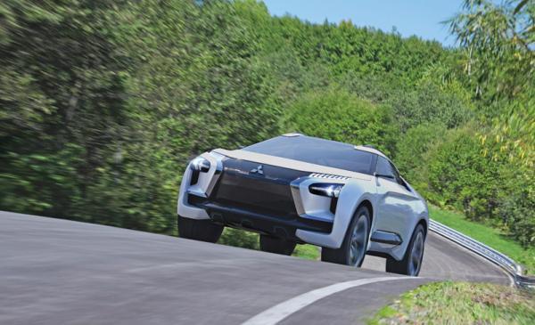 Mitsubishi e-Evolution: возрождение в новом образе