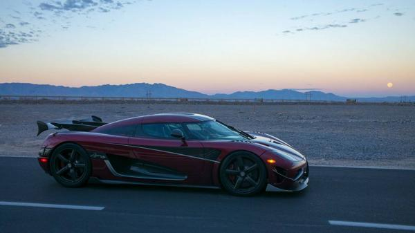 Koenigsegg Agera RS побил мировой рекорд скорости