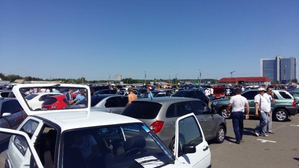 Импорт б/у авто в Украину вырос в три раза