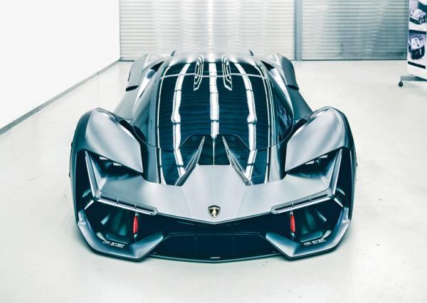 Lamborghini Terzo Millennio: спорткупе третьего тысячелетия