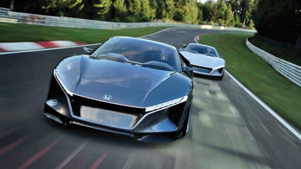 Honda Sports Vision Gran Turismo: предвестник нового S2000