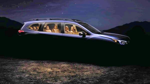 Первые официальные изображения преемника Subaru Tribeca