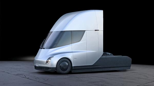 Tesla Semi: нетипичный грузовик