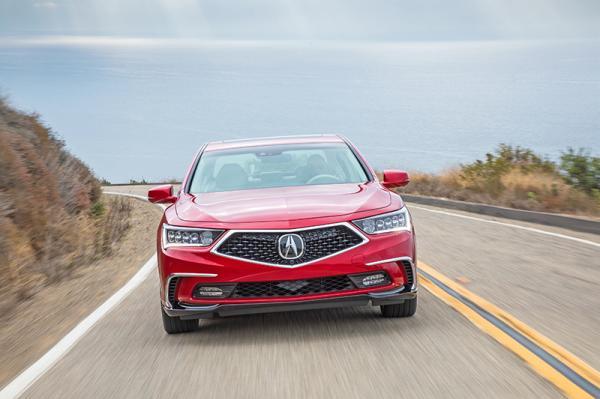 Acura RLX: обновление в новом фирменном стиле
