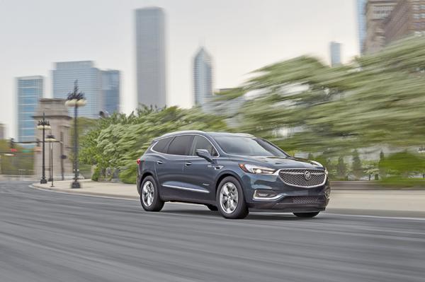 Buick Enclave: элегантный великан