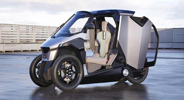 Peugeot EU-Live: городской автомобиль будущего
