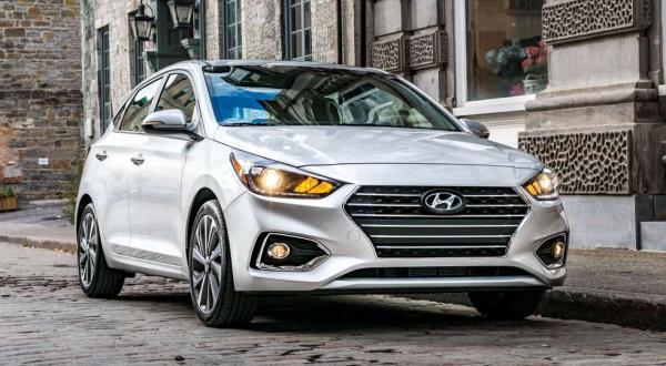 Новый Hyundai Accent представлен в пятидверной версии