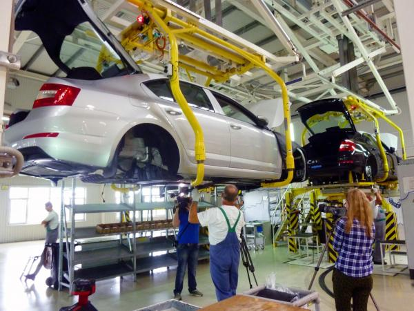 Автопроизводство в Украине демонстрирует существенный рост