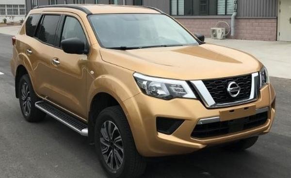 Рамный вседорожник Nissan Terra засняли в Китае