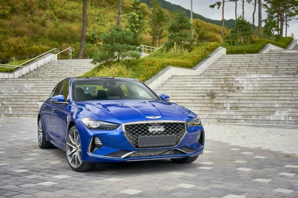 Hyundai Genesis G70: спорт-седан по-корейски