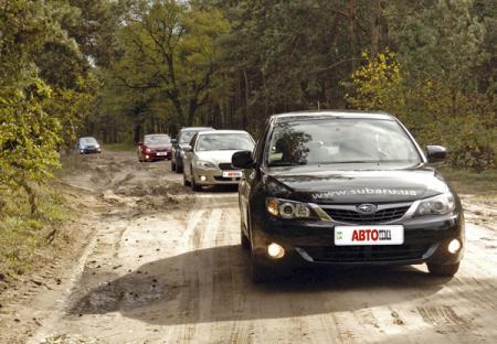 На Шацкие озера…на  Subaru…