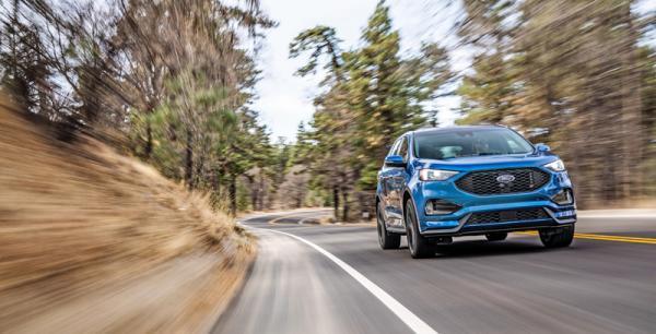 Ford Edge: освежение с прибавкой в мощности