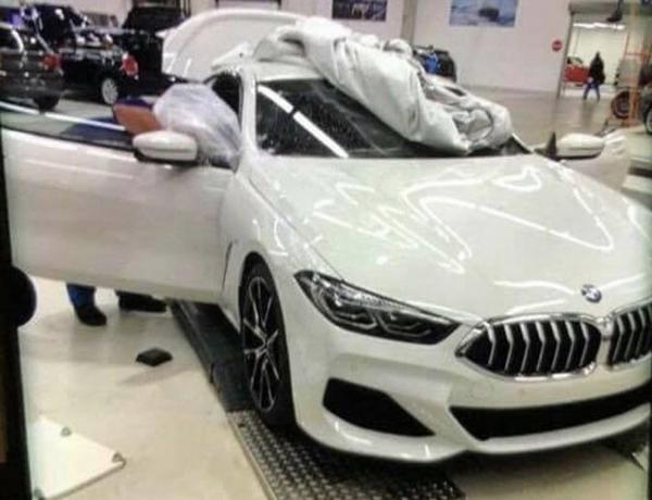 Первые фото нового BMW 8 Series