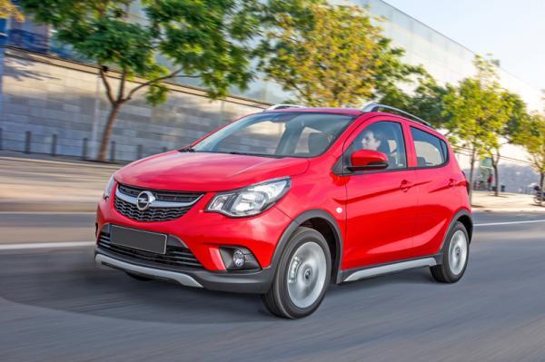 Opel Karl Rocks: во вседорожном духе
