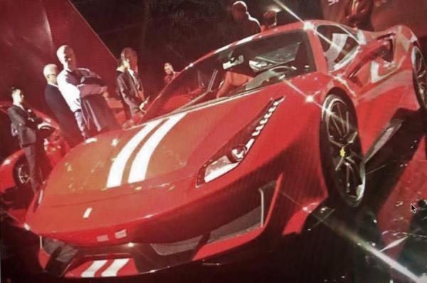 Первые фото Ferrari 488 GTO