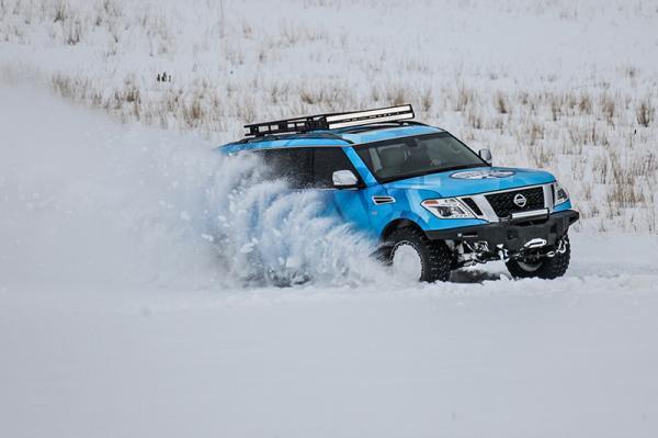Nissan Armada Snow Patrol: для суровой зимы