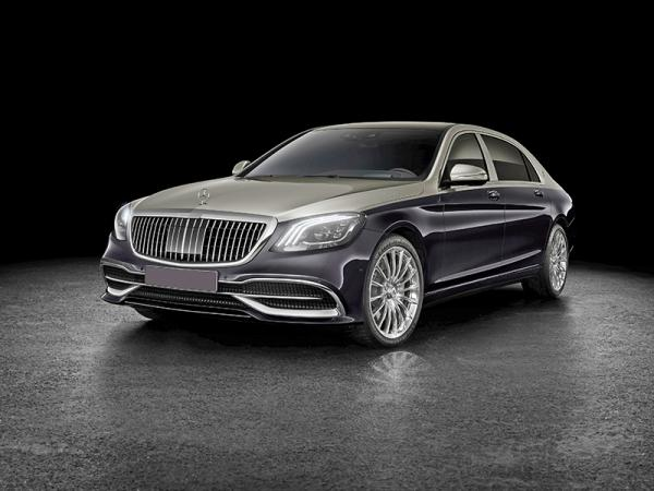 "Mercedes-Maybach S-Class: новое ""лицо"""