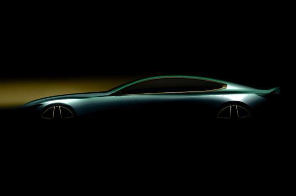 Прототип BMW M8 частично рассекречен