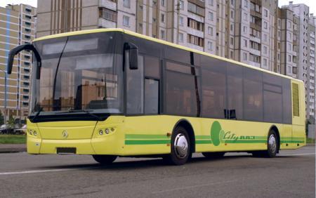 Новый автобус из Львова