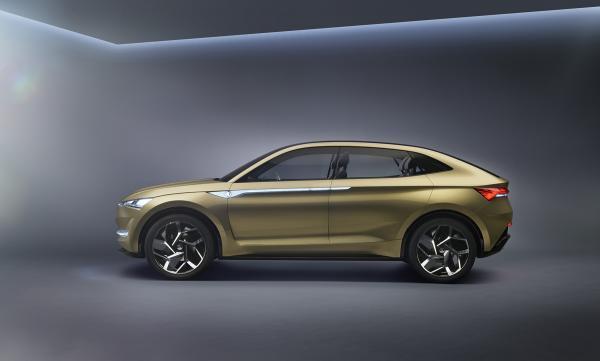 Первый электромобиль Skoda появится в 2020 году