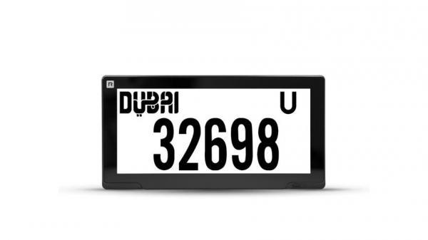 В ОАЭ начали внедрение электронных автомобильных номеров