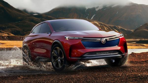 Buick готовит электрический вседорожник