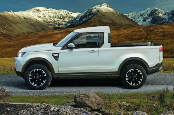 Land Rover выпустит дорогой пикап