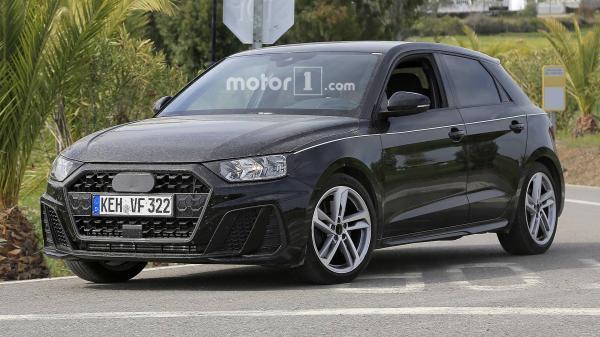 Первые фото Audi A1 нового поколения