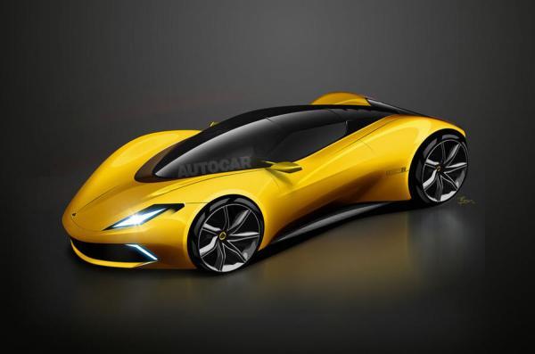 Lotus готовит новый Esprit