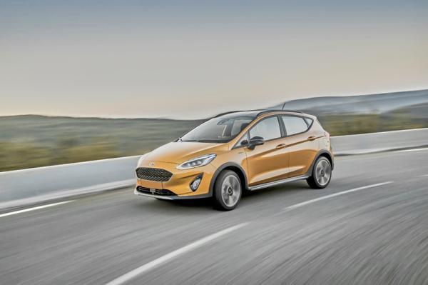 Ford Fiesta Active: хетчбэк со вседорожными задатками