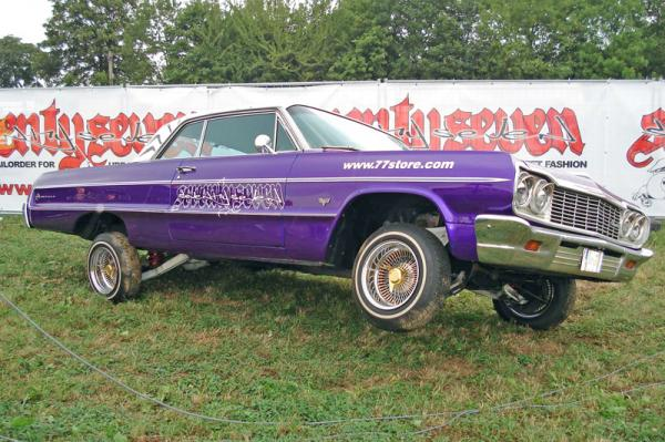 «Лоурайдер» на базе Chevrolet Impala 1964 года